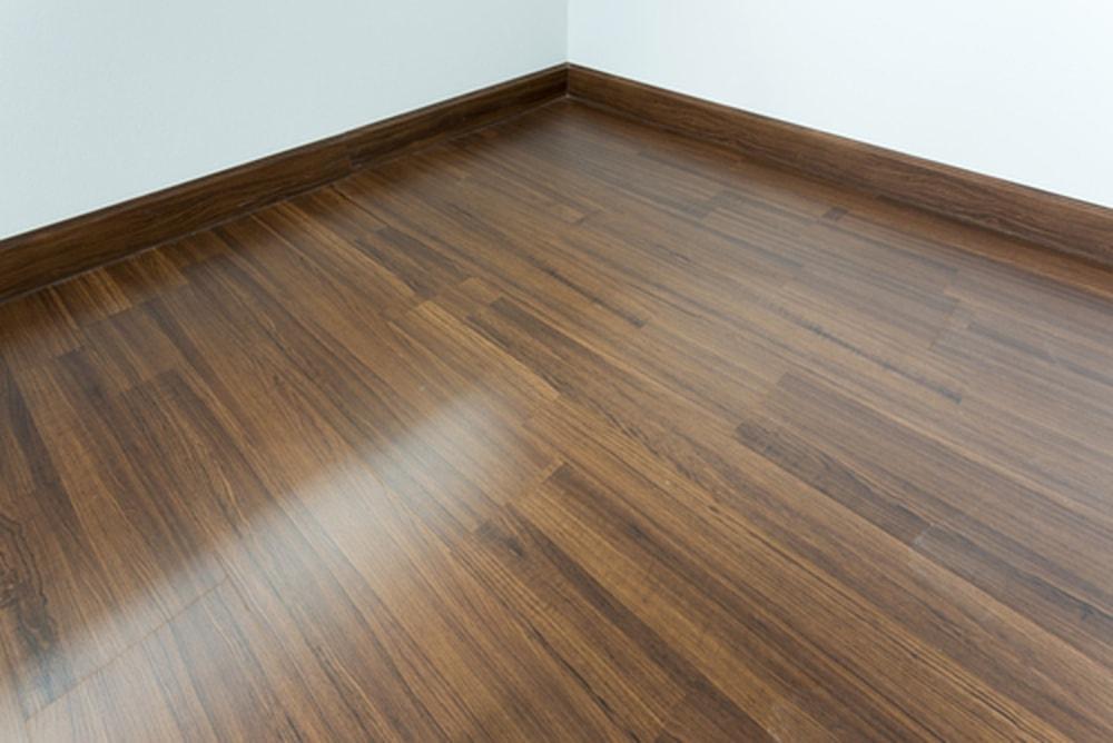 houten vloer met vloerwarming