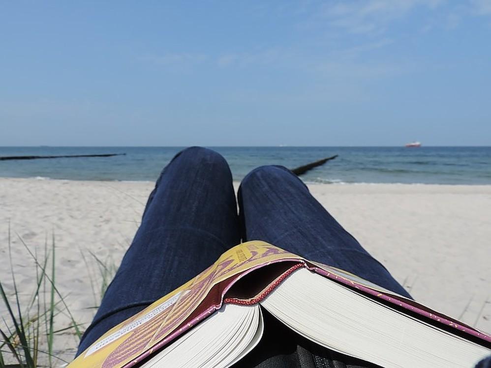 Vier je vakantie, lees een boek