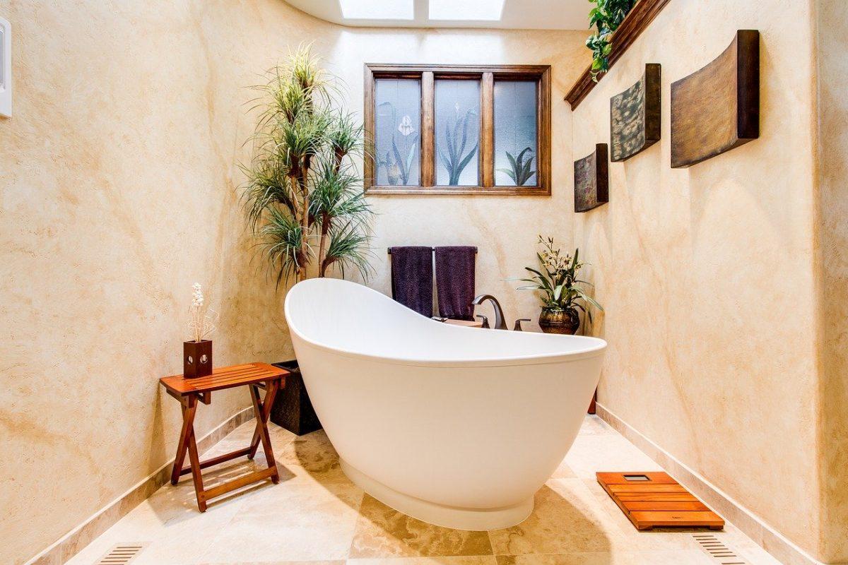 romantische badkamer
