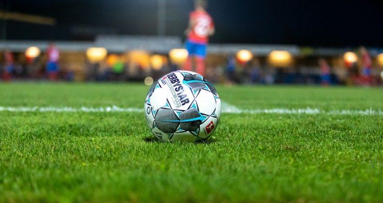 voetbal wedstrijd