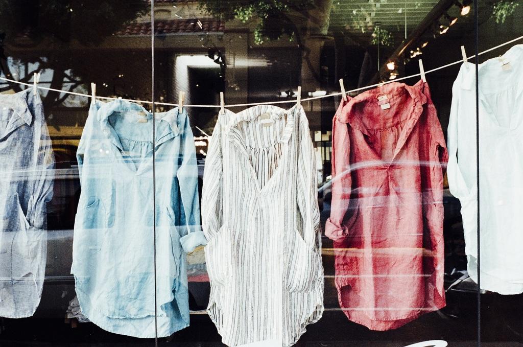 kleding aan de lijn